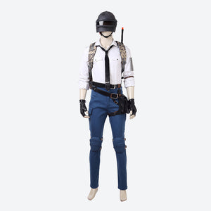 Playerunknown's Battlegrounds cosplay costume game men suit