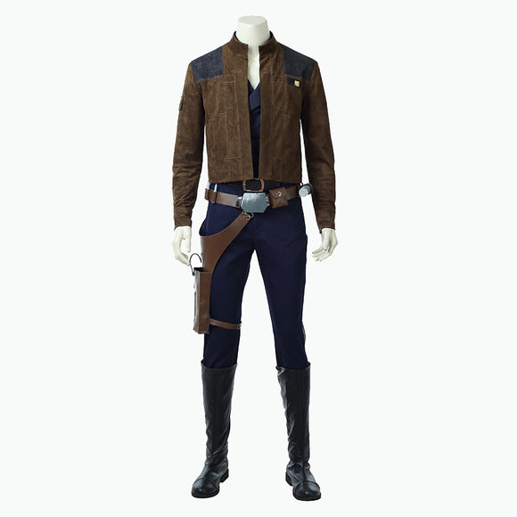 Star Wars Story Han Solo cosplay costume men suit Halloween outfit Marvel