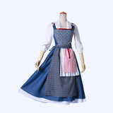 Beauty and the Beast Belle cosplay costume Halloween for Christmas Party or other events
