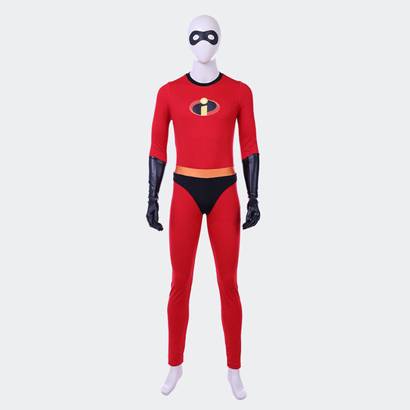 The Incredible Mr Incredible cosplay costume Bob Parr Halloween costume superhero suit