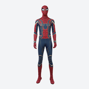 Avengers 3 GOOD quality Spiderman cosplay bodysuit spider suit Halloween costume