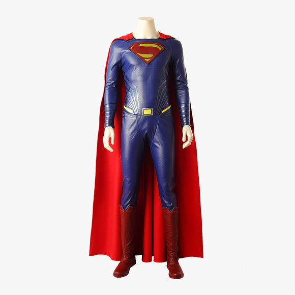 Justice League superman superher cosplay costume superhero superman jumpsuit Halloween men suit