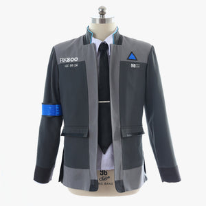 Detroit Become Human Connor Jacket Coat cosplay costume men Halloween