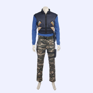 Black Panther Erik Killmonger hero costume cosplay outfit