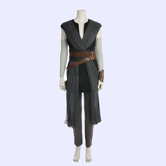 Star Wars Rey cosplay costume Halloween outfit