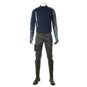 Avengers 3 Infinity War  Bucky winter soldier cosplay costume