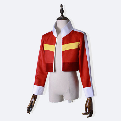 Voltron Keith costume cosplay  red coat top