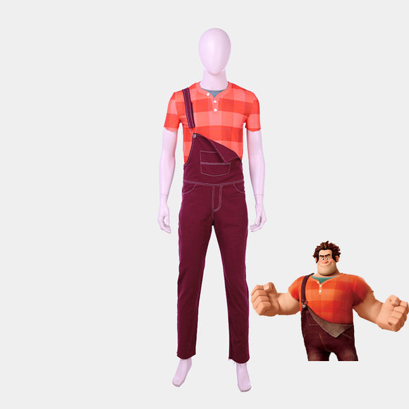 Wreck-It Ralph Ralf Jones cosplay costume