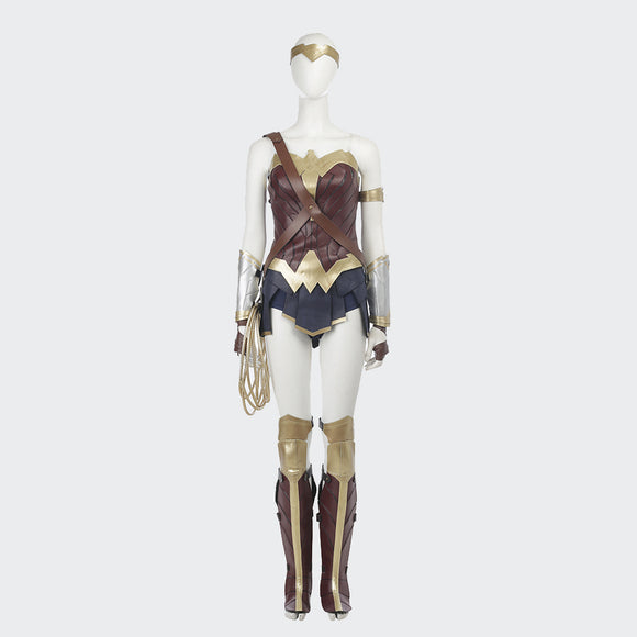 Wonder Woman Diana Princess superwoman cosplay costume Halloween superwoman