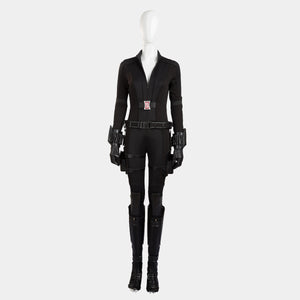 Avengers 3 Infinity War Natasha Black Widow cosplay costume Halloween