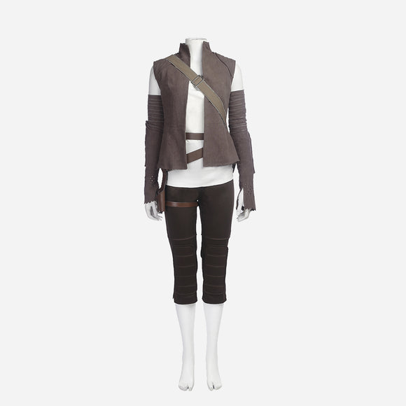 Star Wars Rey cosplay costume Halloween women cosplay