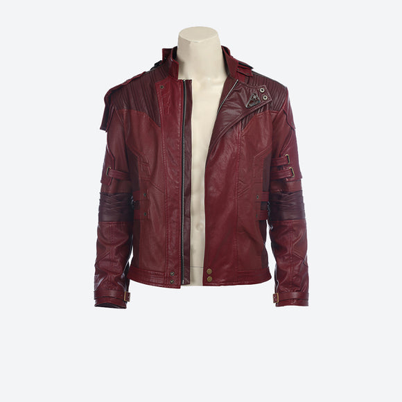 Guardians of the Galaxy Star Lord Peter Quill jacket/cloak cosplay costume Halloween coat