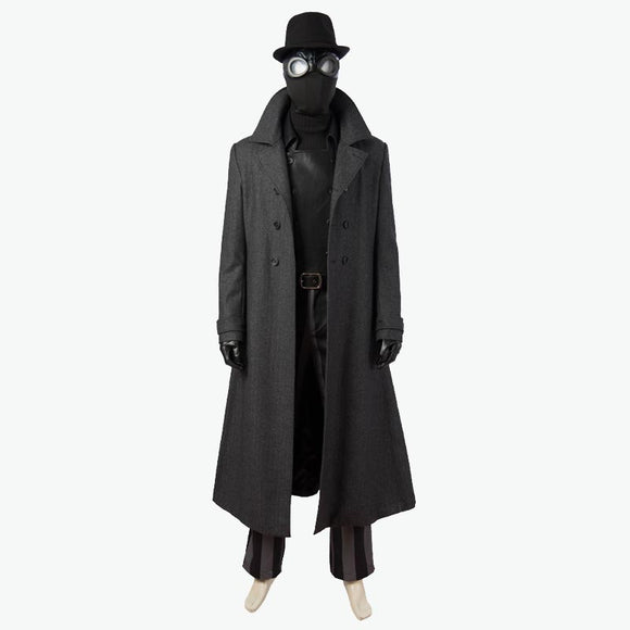 Spider-Man Into Spider-Verse Spiderman Noir cosplay costume men