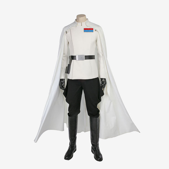Rogue One A Star Wars Story Orson cosplay costume  Halloween white suit