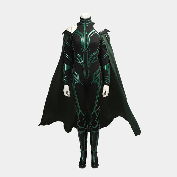 Thor 3: Ragnarok - Hela The goddess of death costume cosplay outfit Halloween