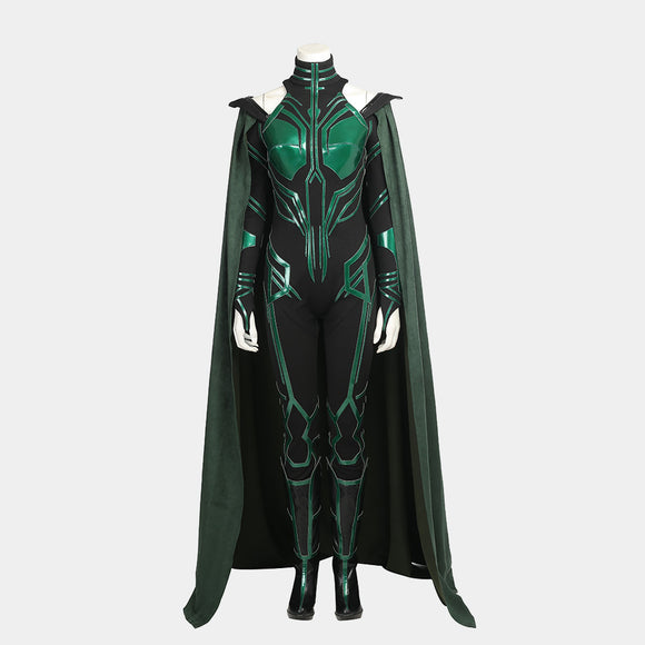 Thor: Ragnarok - Hela The goddess of death cosplay costume Halloween
