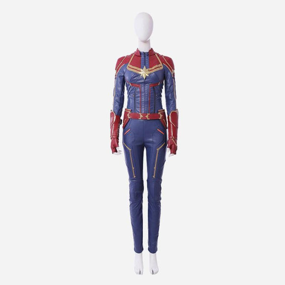 Captain Marvel Carol Danvers cosplay costume