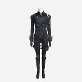 Avengers 3 Infinity War Natasha Black Widow cosplay costume Halloween costume women black jumpsuit