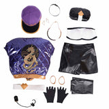 League of Legends KDA Akali cosplay costume