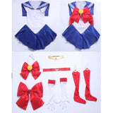 Sailor Moon dress cosplay costume