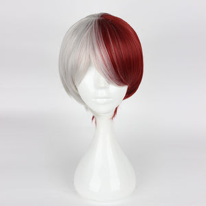 My Hero Academia Todoroki Shoto wig cosplay accessory