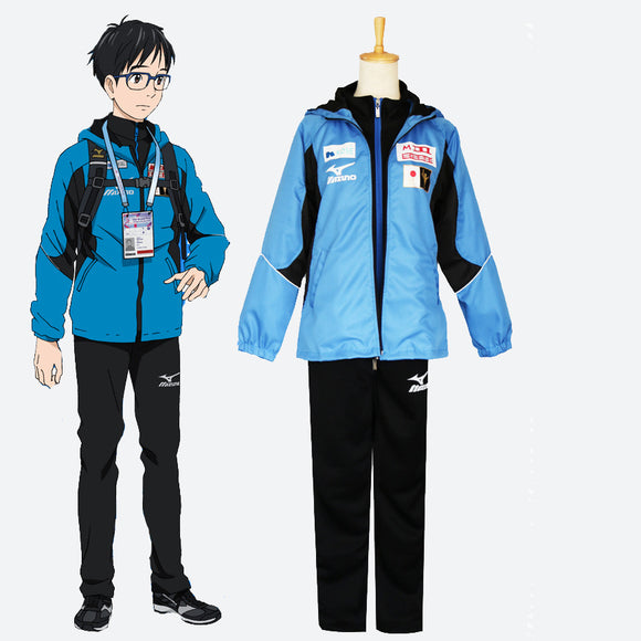 Yuri on Ice Yuri Katsuki cosplay costume outfit
