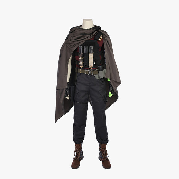 Deadpool 2 X-Men Cable Nathan cosplay costume Halloween