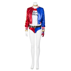 Suicide Squad Harley Quinn cosplay costume