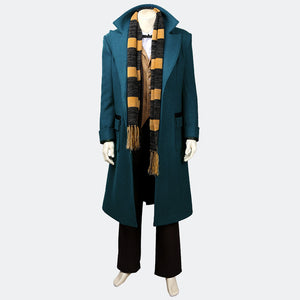 Fantastic Beasts Newt Scamander cosplay suit costumes
