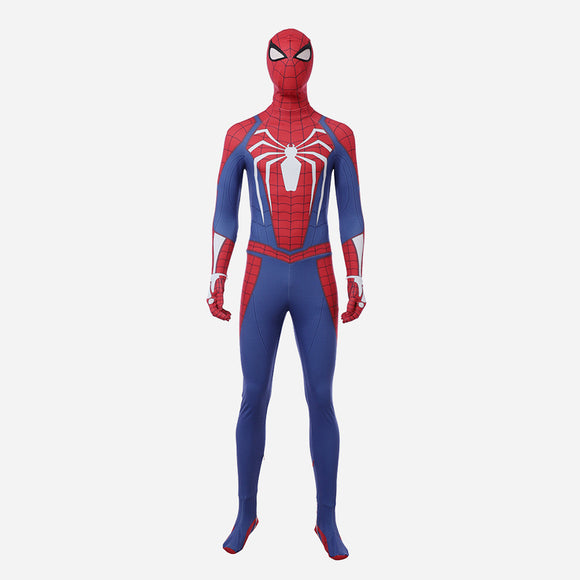 Spiderman PS4 bodysuit cosplay game costume spidey suit