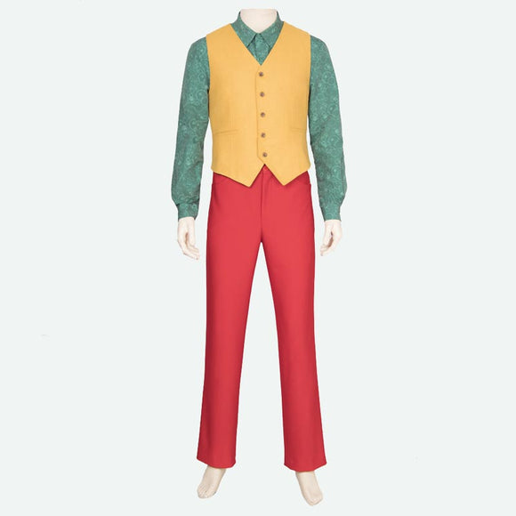 The Joker costume cosplay men suit