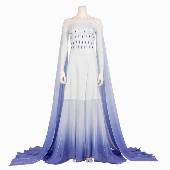 Elsa cosplay dress costume