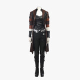 Guardians of the Galaxy 2 Gamora Cosplay costume women coat outfit Halloween costume