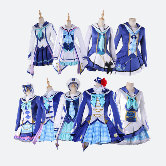 Lovelive OP2 Sunshine - Aqours costume cosplay dress Halloween outfit