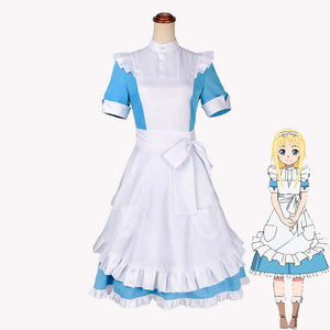 Sword Art Online Alice Good quality female Maid dress cosplay costume