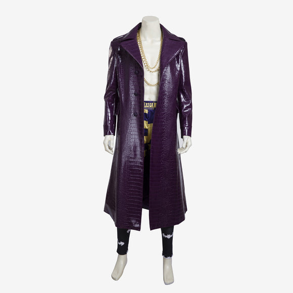 Suicide Squad the Joker costume cosplay men outfit Halloween