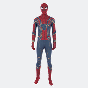 GOOD quality Spiderman cosplay bodysuit spider suit Halloween costume
