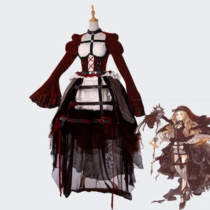 SINoALICE Red Riding Hood cosplay costume Gothic Halloween dress