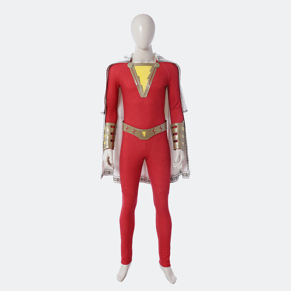 Shazam Billy Batson cosplay costume