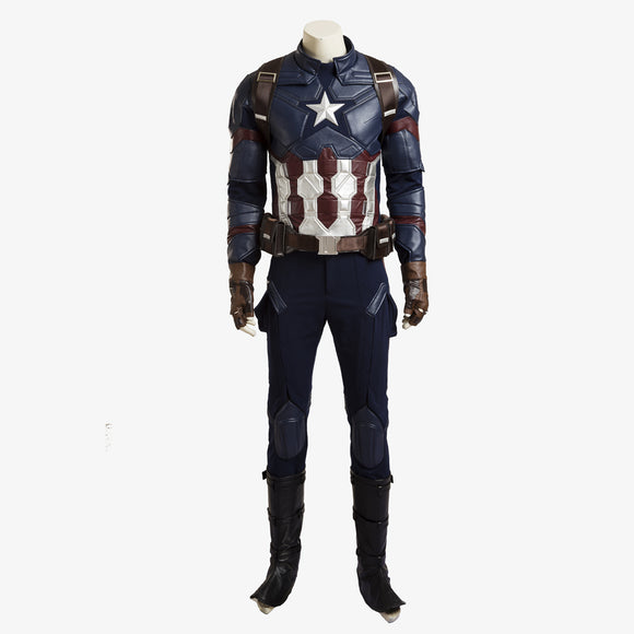 Avengers Infinity War Steve Rogers cosplay costume superman suit Halloween outfit