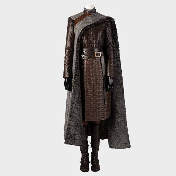 Game of Thrones 8 Arya Stark Cosplay Costume