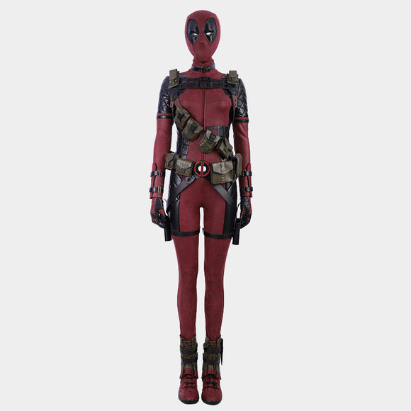 Xmen Deadpool Women cosplay costume