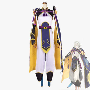 Fate Grand Order Saber Lang Lin Wang cosplay costume for men
