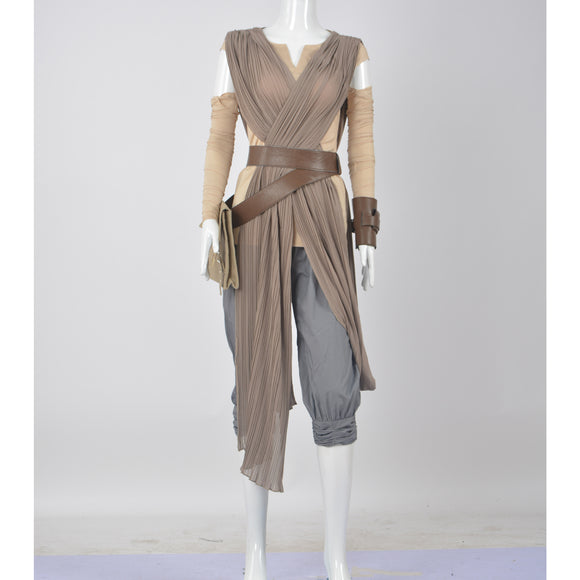 Star Wars - Rey dress costume cosplay outfit Halloween