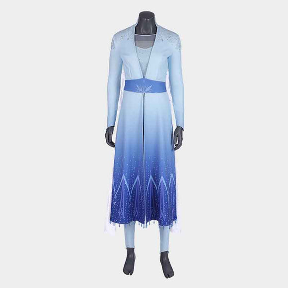Frozen 2 Elsa cosplay dress