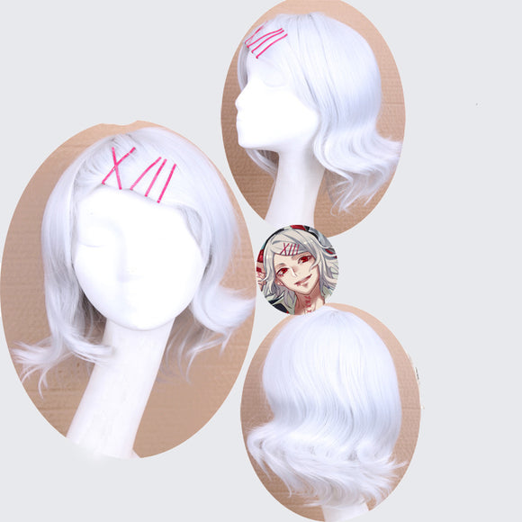 Tokyo Ghoul Juzo wig cosplay accessory