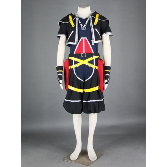 Kingdom Hearts Sora cosplay costume for Halloween