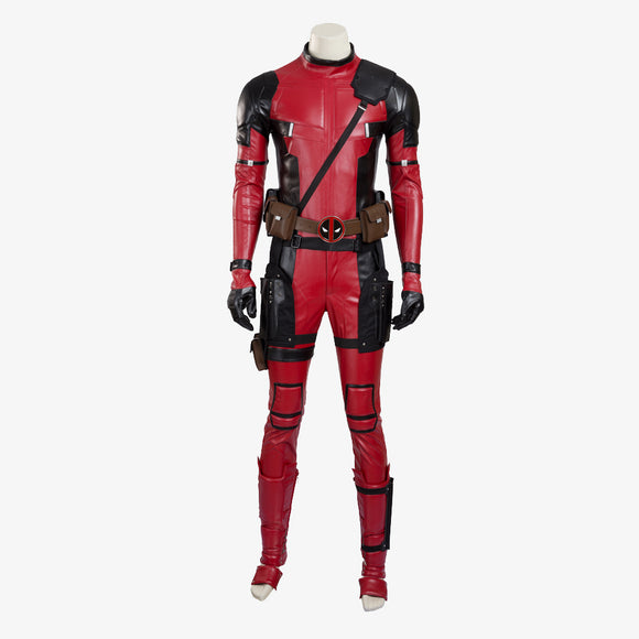 Deadpool X-Men cosplay costume jumpsuit superhero suit men jumpsuit Halloween costume