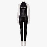 Alita: Battle Angel Cosplay Costumes Leather Suit