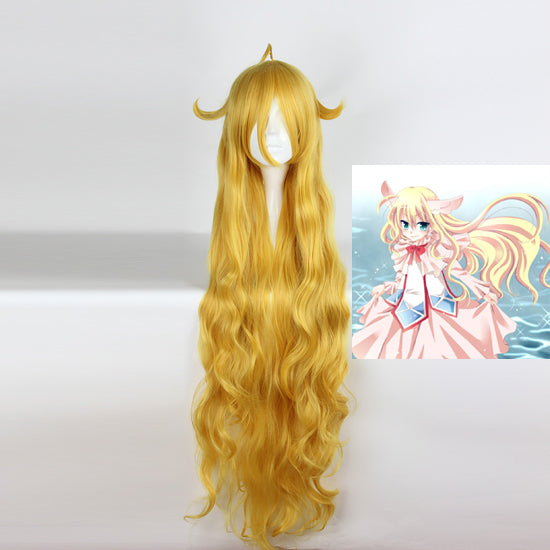 Fairy Tail Mavis wig cosplay accessory